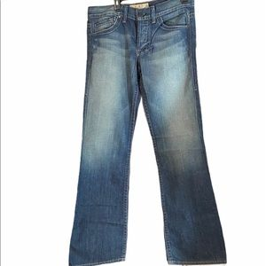 NWT William Rast Billy Flare Mens Jeans Size 35/34